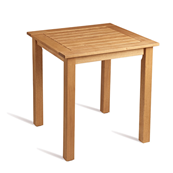 Table carrée en bois de robinier 80 cm MORE - lot de 2